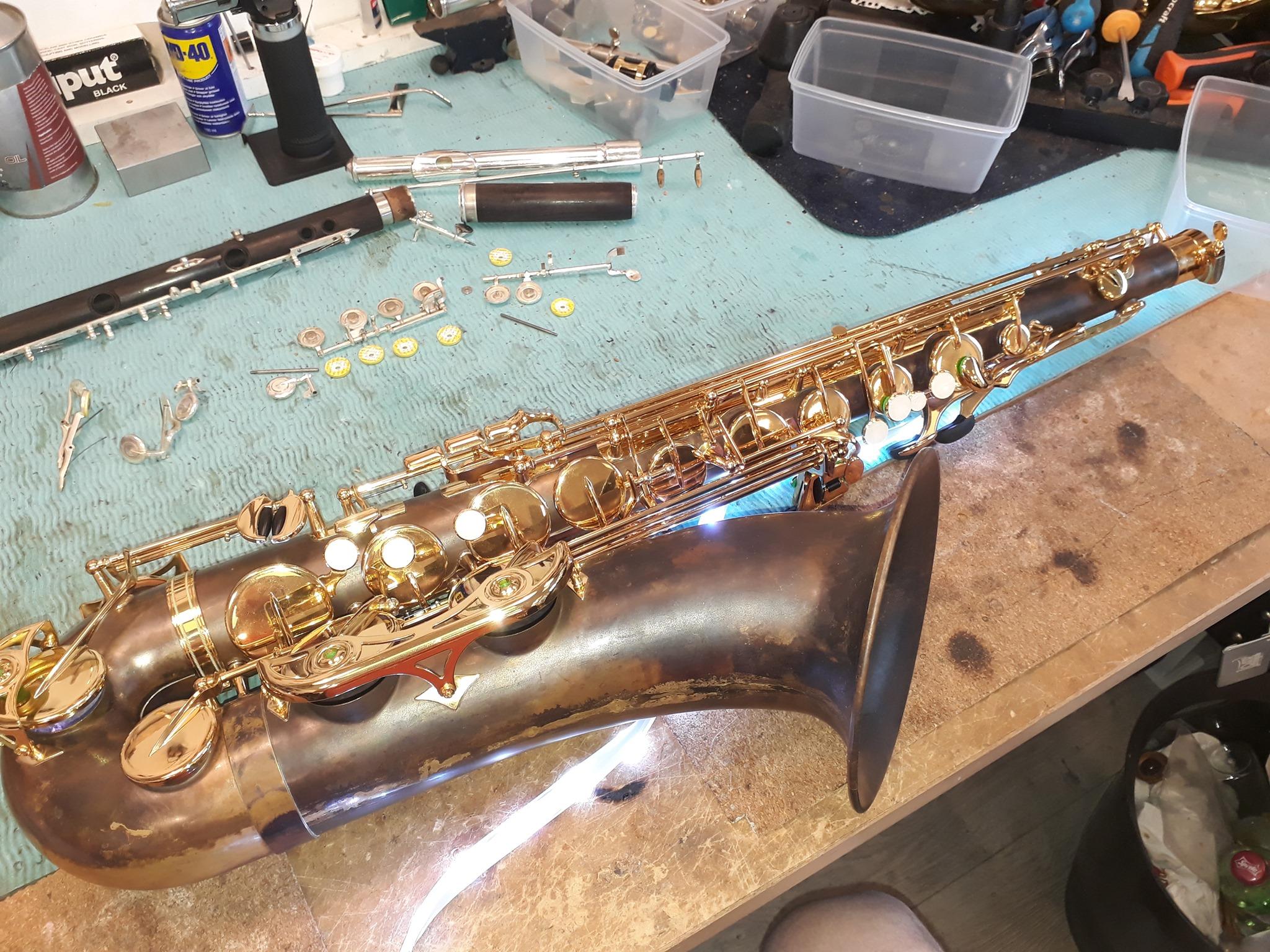 Vedlikehold av instrument